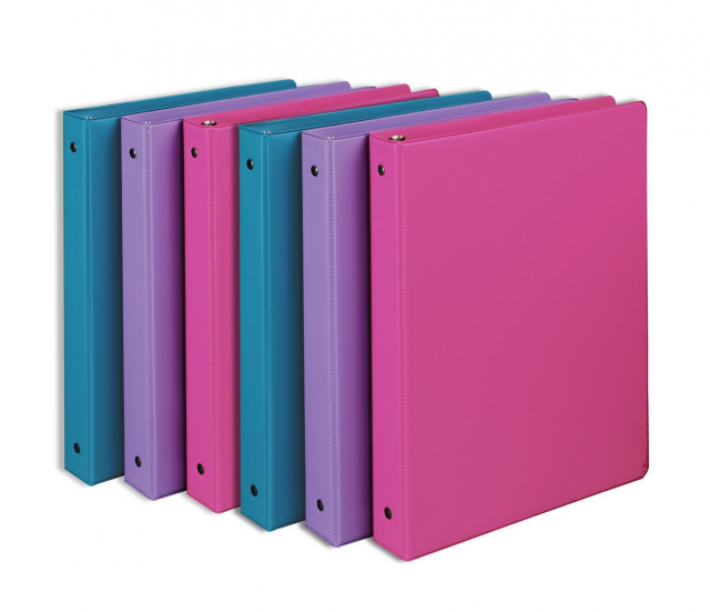 6-Pack of Samsill 1-Inch Round Ring Binders Only $8.22 (Reg. $39.48!) – Lowest Price!