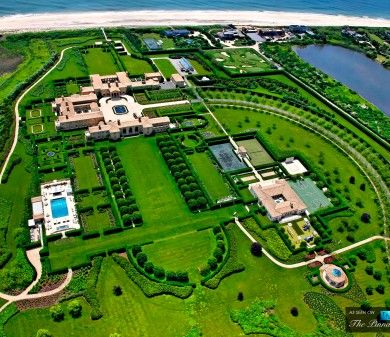 Billionaire Ira Rennert S 200 Million Hamptons Mansion One Of The Largest Homes In America Expensive Houses Fancy Houses Billionaire Homes