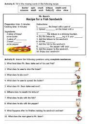 Related image | La comida | How to make sandwich, Vocabulary ...