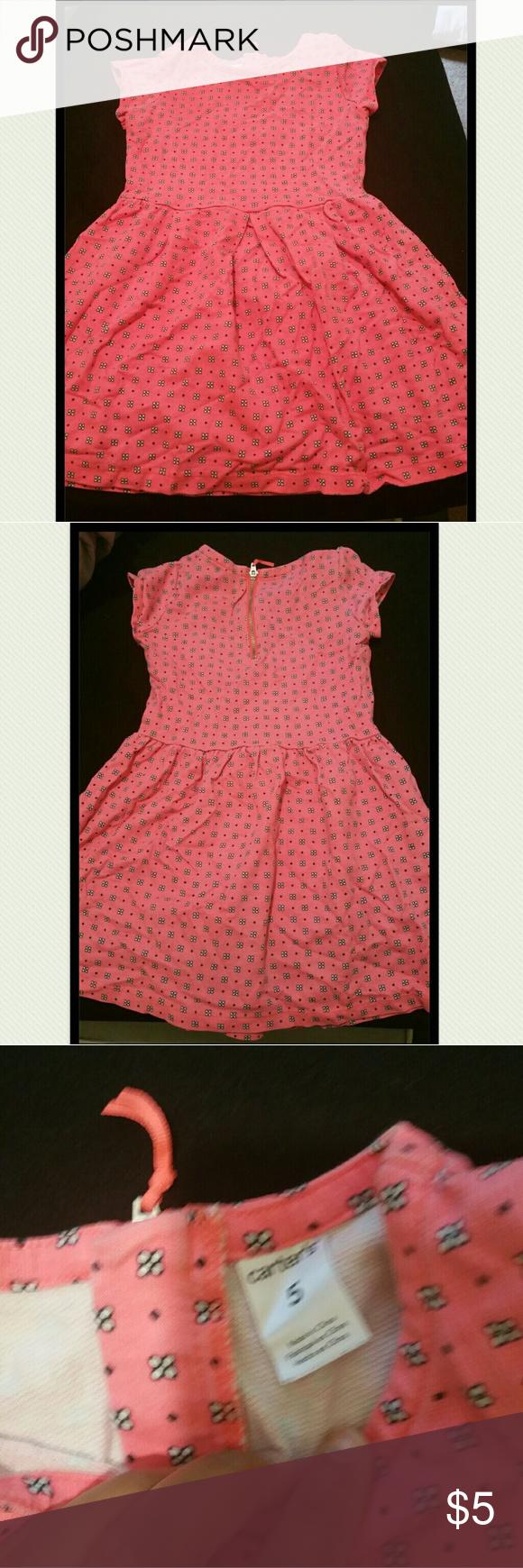 Cute Little Girls Dress Pink Summer Girls Dresses And Flower