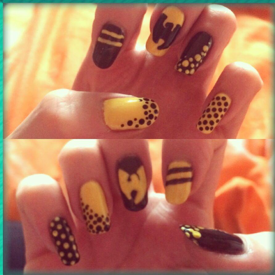 Wu tang nails | Nehty | Pinterest | Wu tang