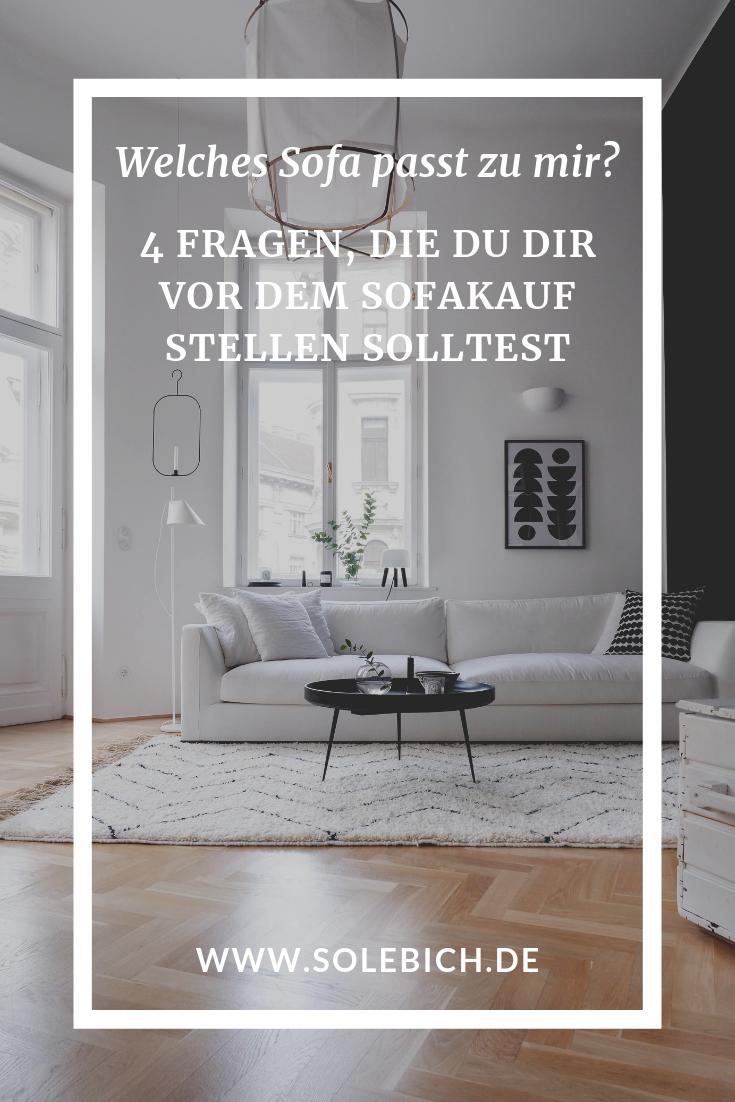 Welches Sofa passt zu mir? – 4 Fragen, die ihr euch vor dem ...