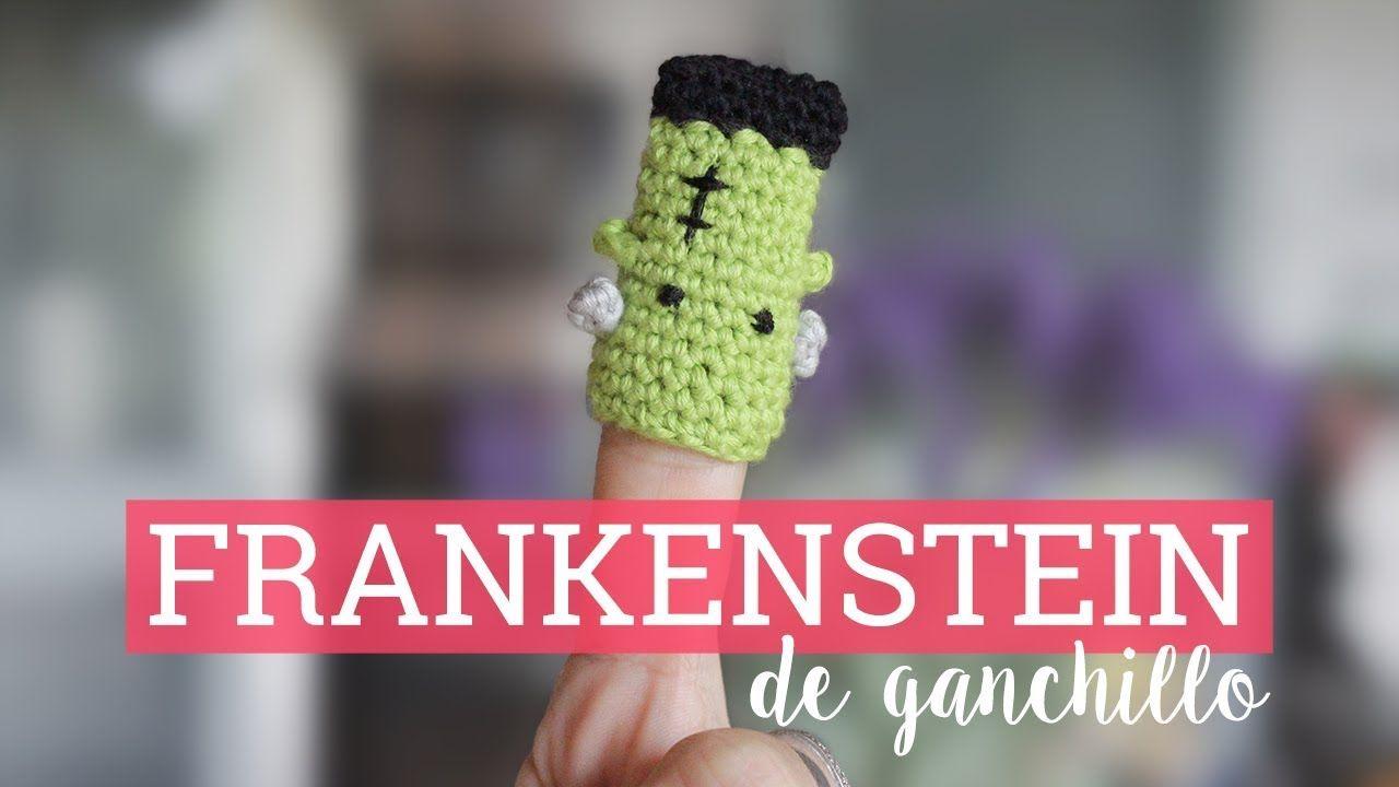 Frankenstein de ganchillo: marioneta de dedo | Bluü | BLUÚ ...