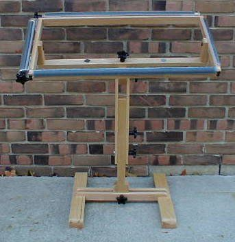 Wool Hooking Frames Large Roller Frame And Stand Optional
