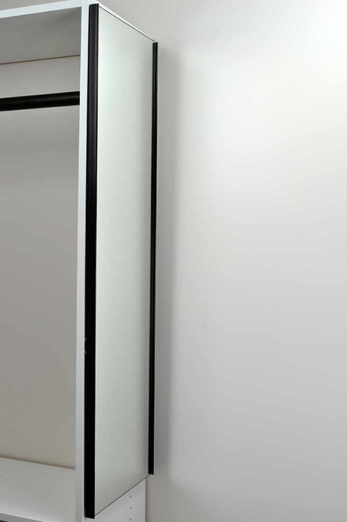 Tag Hardware S Sliding Closet Mirror In Oil Rubbed Bronze Features A Mount That Allows Horizontal Tilt