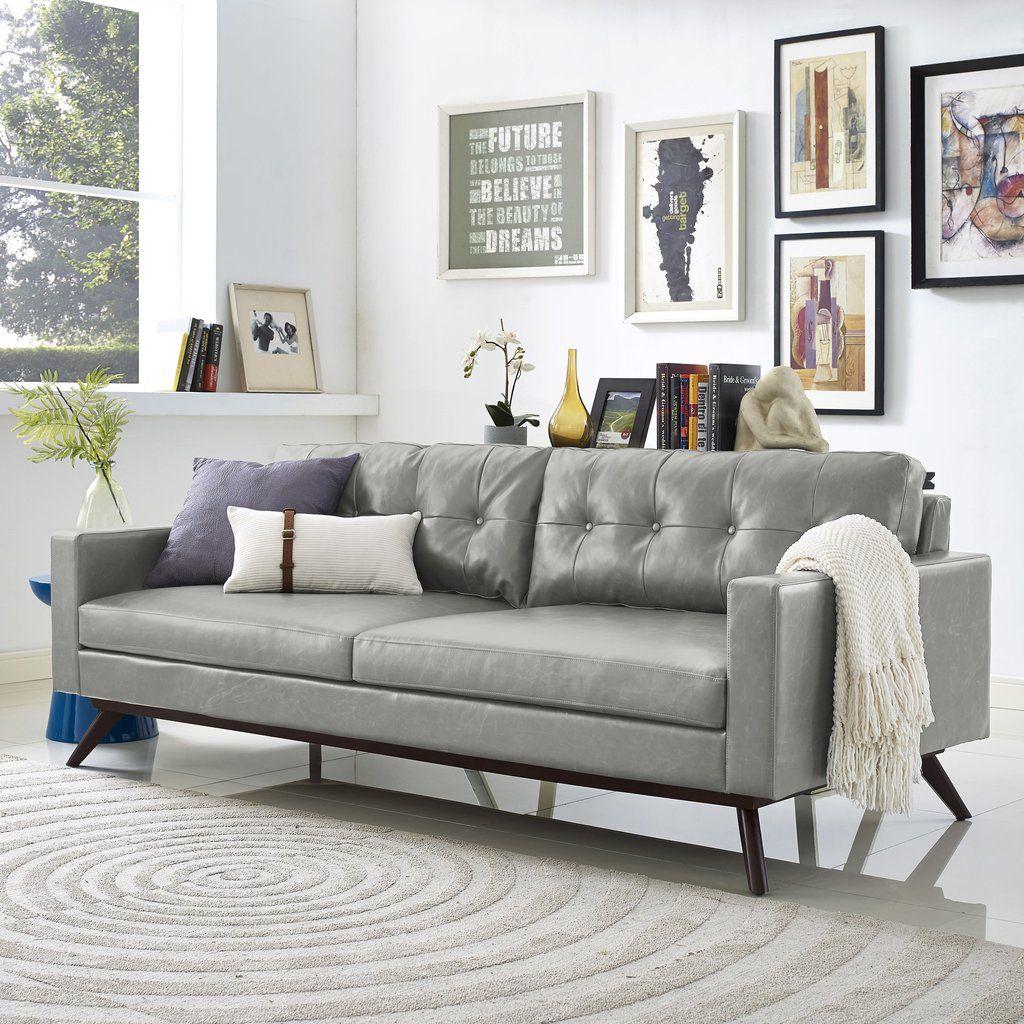 Tov furniture modern blake antique grey sofa sofas tov furniture minimal modern 1