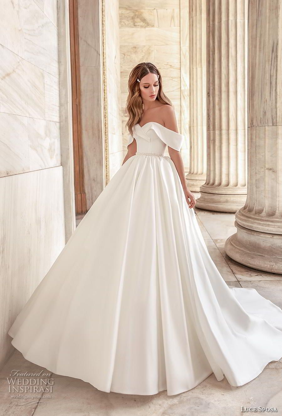 "Luce Sposa 2020 Wedding Dresses — ""Greece Campaign"" Bridal"