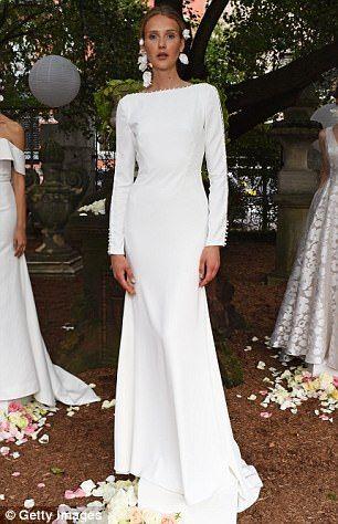 2018 Modern Wedding Dress
