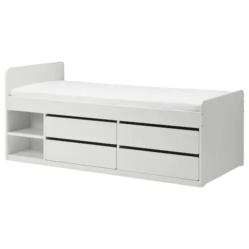 Twin Beds Frames Ikea In 2020 Met Afbeeldingen Bedframe
