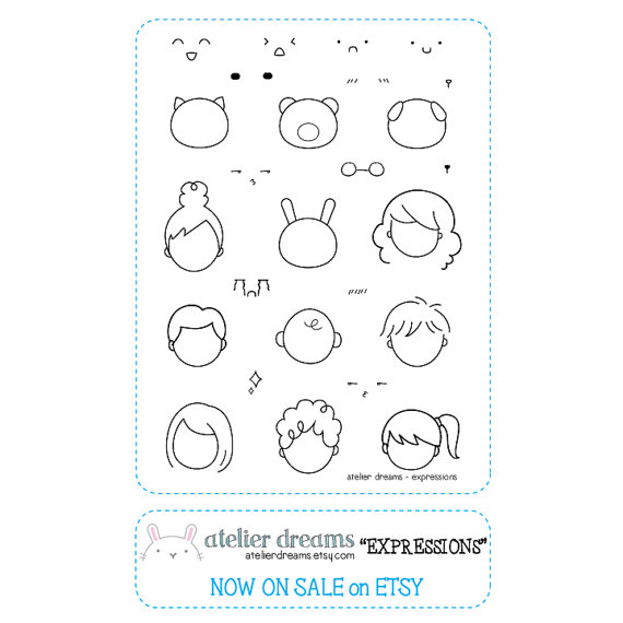 9a70981d43b0f Retiring AD-003 EXPRESSIONS - Planner Stamps (Photopolymer Clear ...
