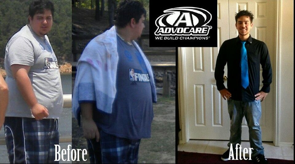 Before Advocare and after...it makes a difference in our ...