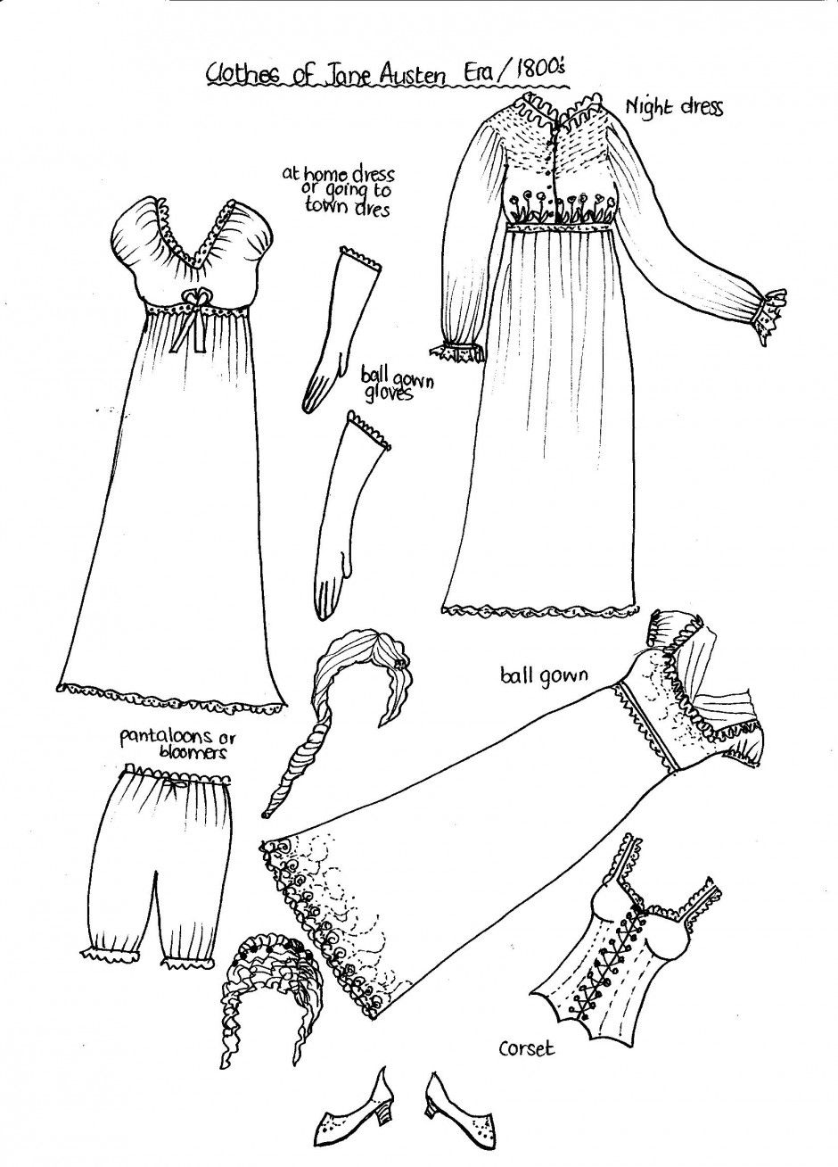 Doll Clothes Coloring Pages Bing Images Paper Dolls Pinterest