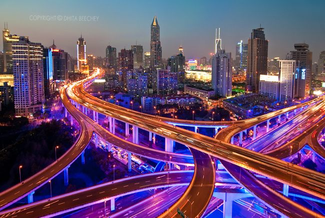 The infrastructure in China is very impressive to an international traveler.