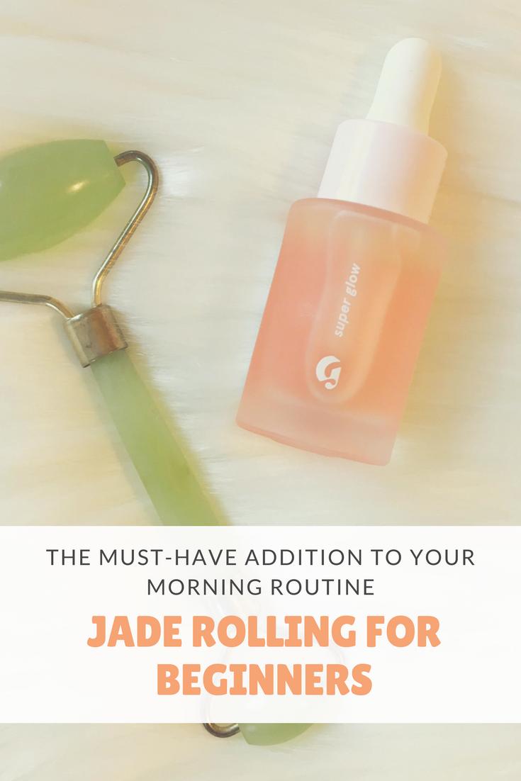 Jade Rolling For Beginners Jade Rolling Rolling Face Beauty Skin Care