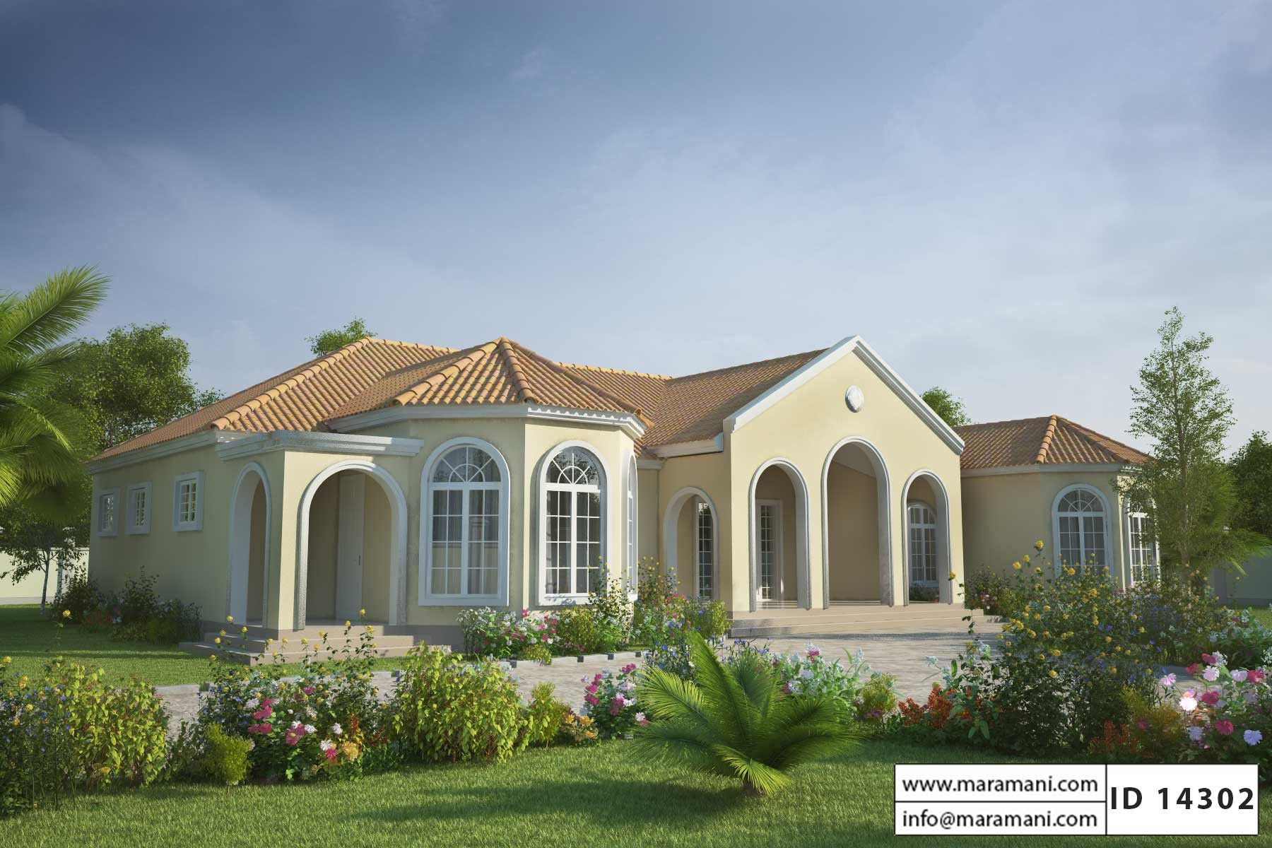 Mediterranean Style House Plan Id 14302 House Plans By Maramani Mediterranean House Designs Mediterranean Style House Plans Beach House Plans