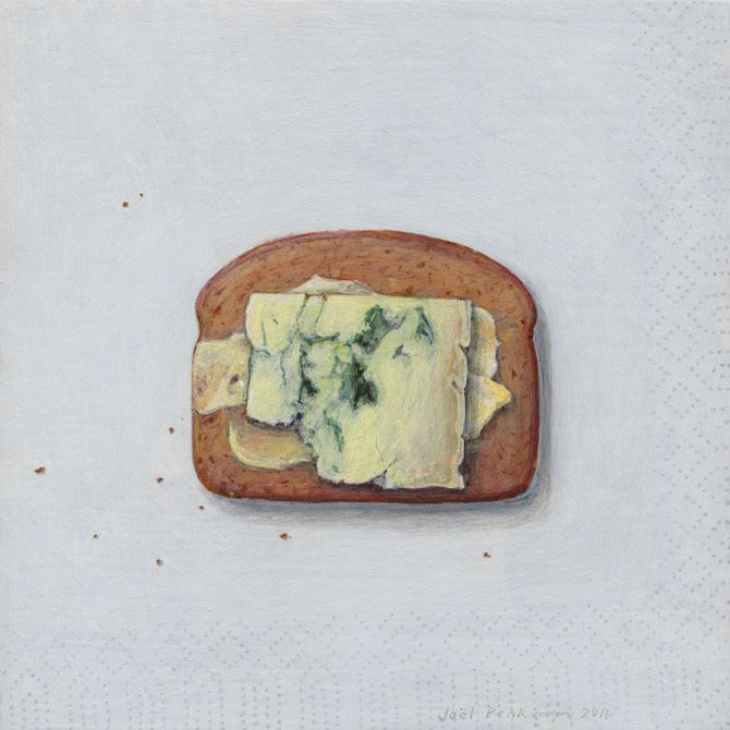 Stilton cheese on digestive - Joel Penkman