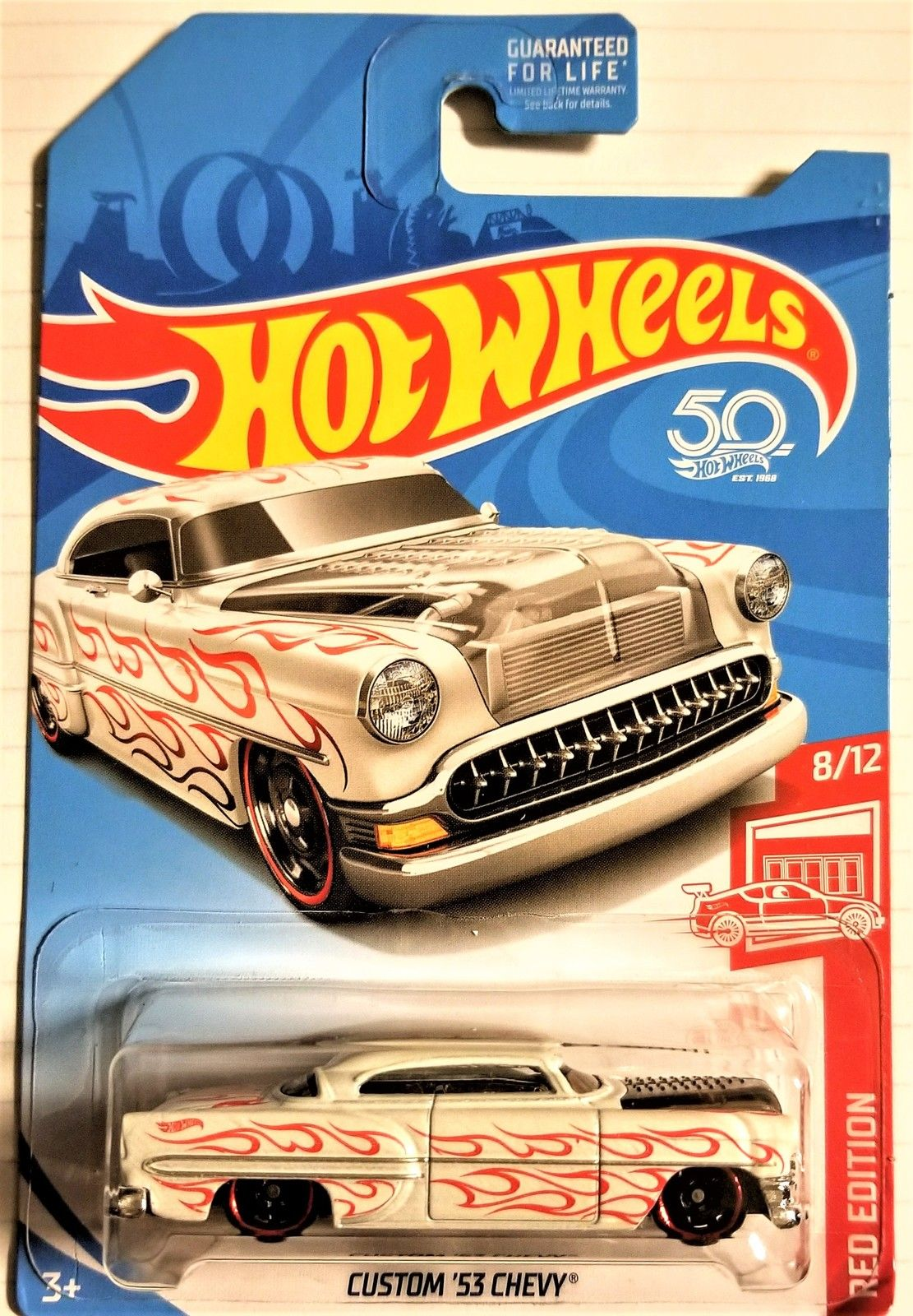 Hot Wheels 50th Anniversary Custom 53 Chevy Target Exclusive