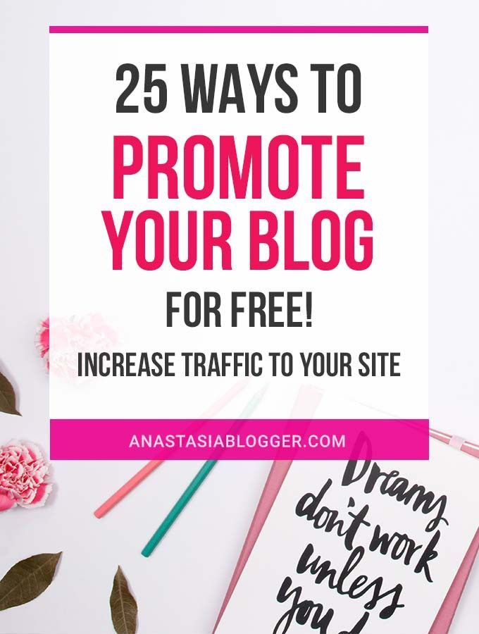 How To Promote Your Blog For Free Increase Traffic Fast How