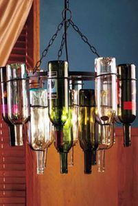 How to make wine bottle chandelier el vino frascos y alegria how to make wine bottle chandelier dig this design aloadofball Choice Image