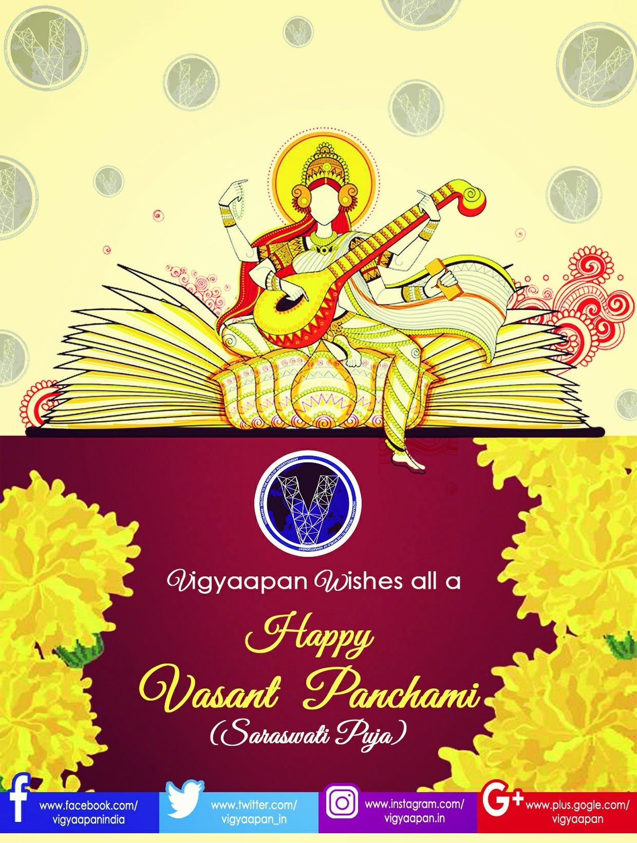 Vigyaapan Family Wishes All A Happy Vasant Panchami