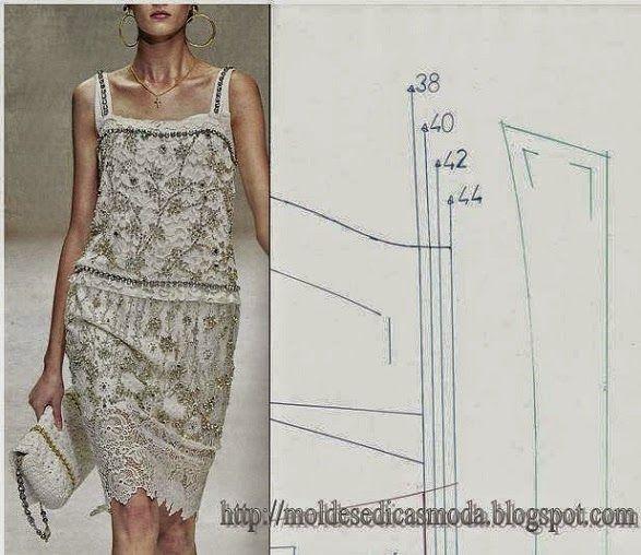 Vestido de renda 2011