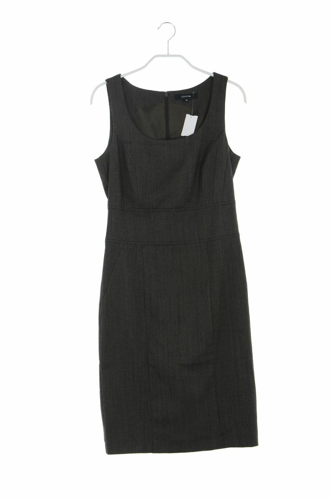 Etui-Kleid Etui Viskose Schlitz Damen D 11 Dress eng Braun-Töne