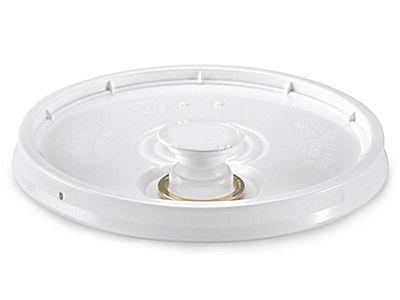 Lid With Spout For 3 5 5 6 And 7 Gallon Plastic Pail S 9943 Plastic Pail Kitchen Compost Bin Pail