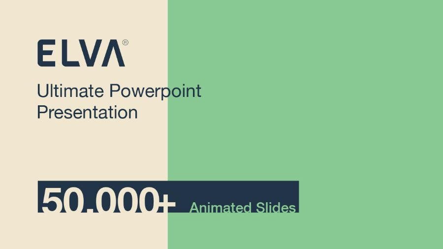Elva Free Powerpoint Presentation Template  Pecha Kucha