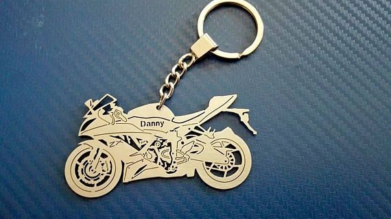 Key Chain Similar To Kawasaki Ninja Bike Key Chain Keyring For