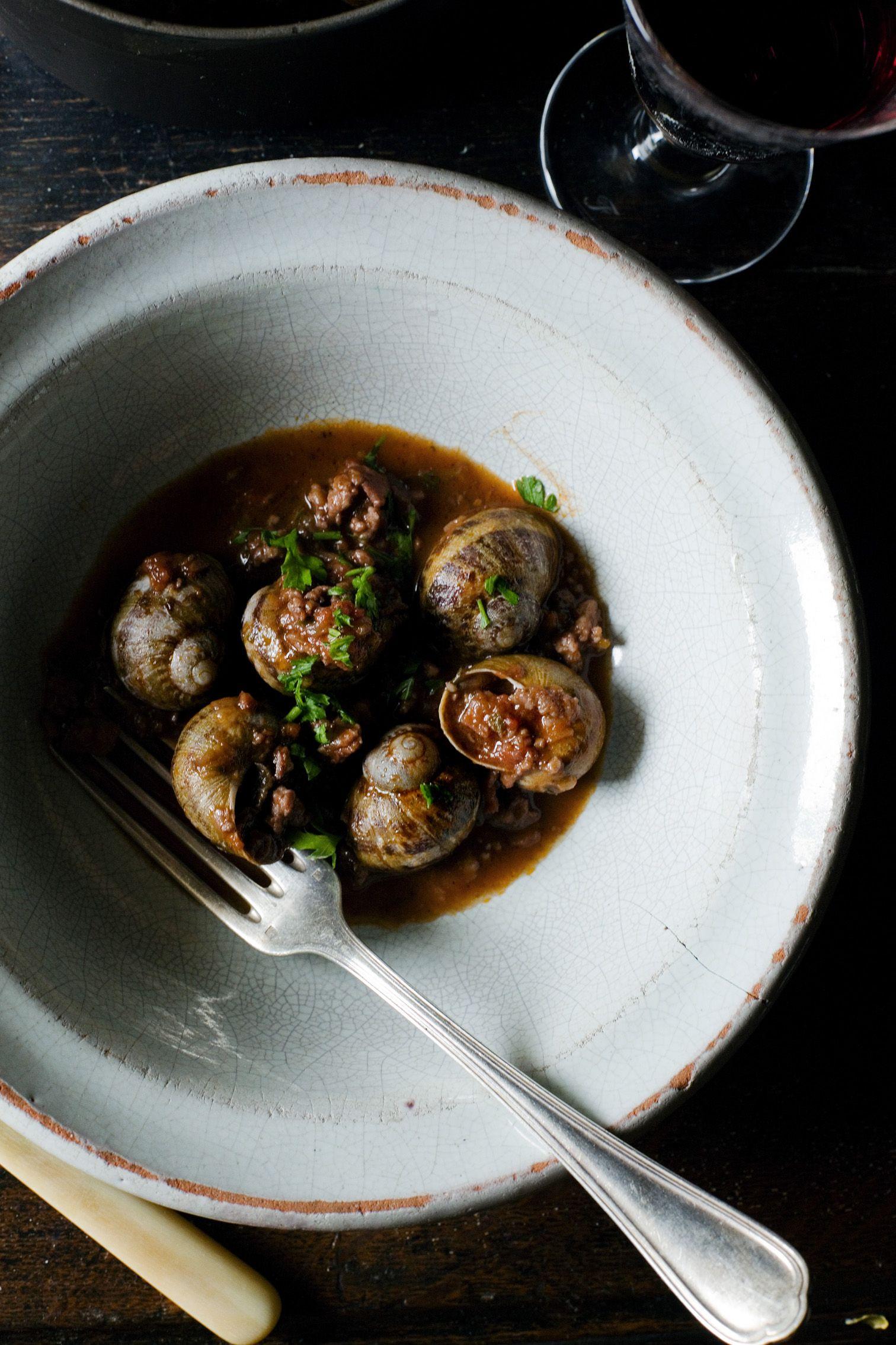 september is for snails chic bites snails recipe. Black Bedroom Furniture Sets. Home Design Ideas