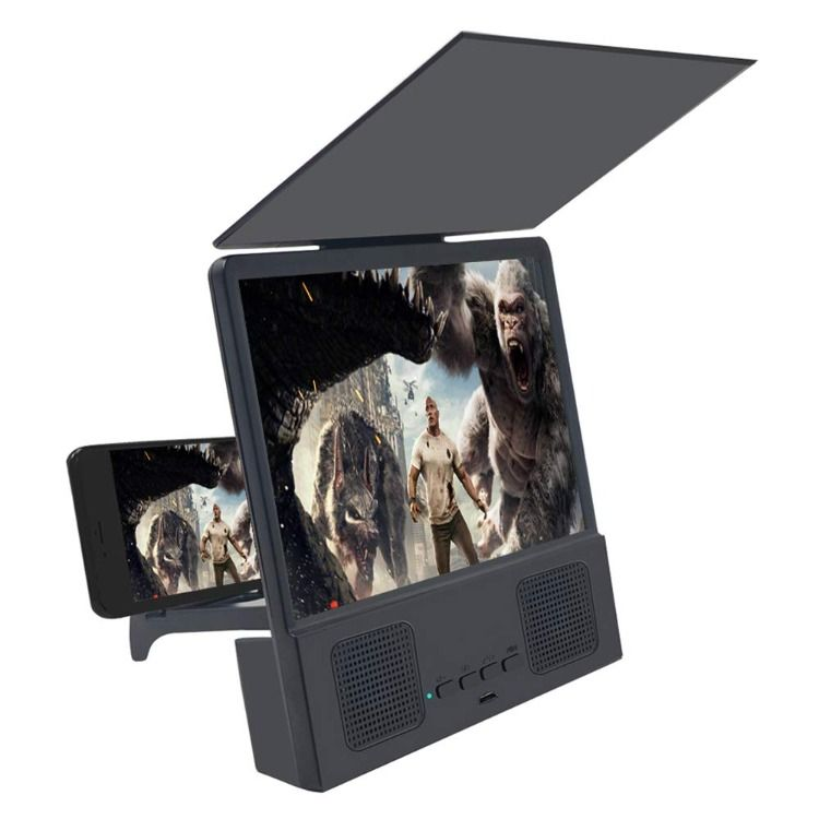 Jushi 8 inches screen magnifier 3d smart mobile phone