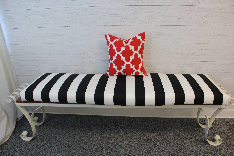 Customizable Bench Cushion Cushion Cover With Foam Insert Window Seat Cushion Dacron Wrapped Foam Cushion With Envelope Cover In 2020 Window Seat Cushions Bench Cushions Cushions Uk