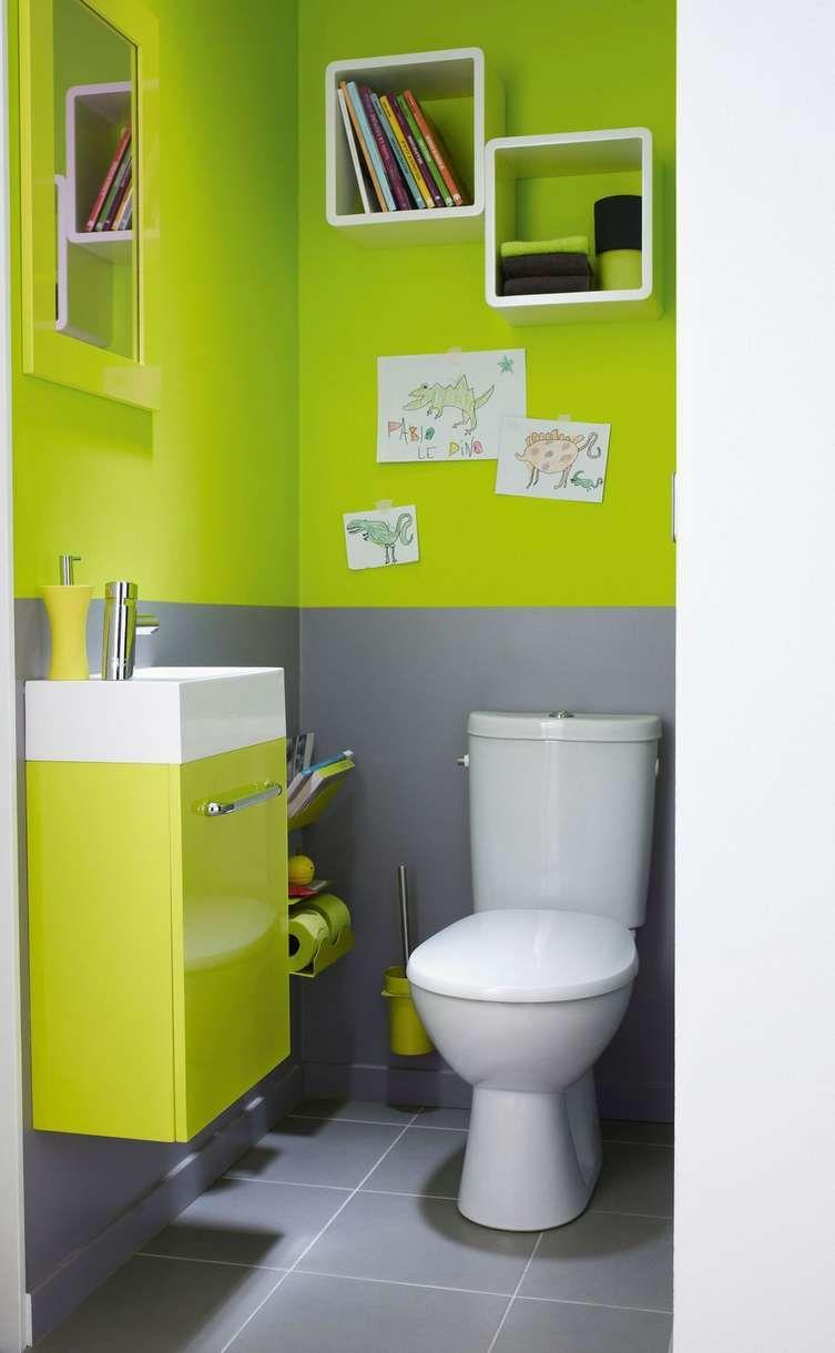 J Aime Cette Photo Sur Deco Fr Et Vous Amenagement Wc Decoration Toilettes Idee Salle De Bain