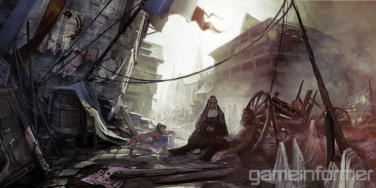 Assassin&#39-s Creed: Revelations Concept Art by Martin Deschambault ...