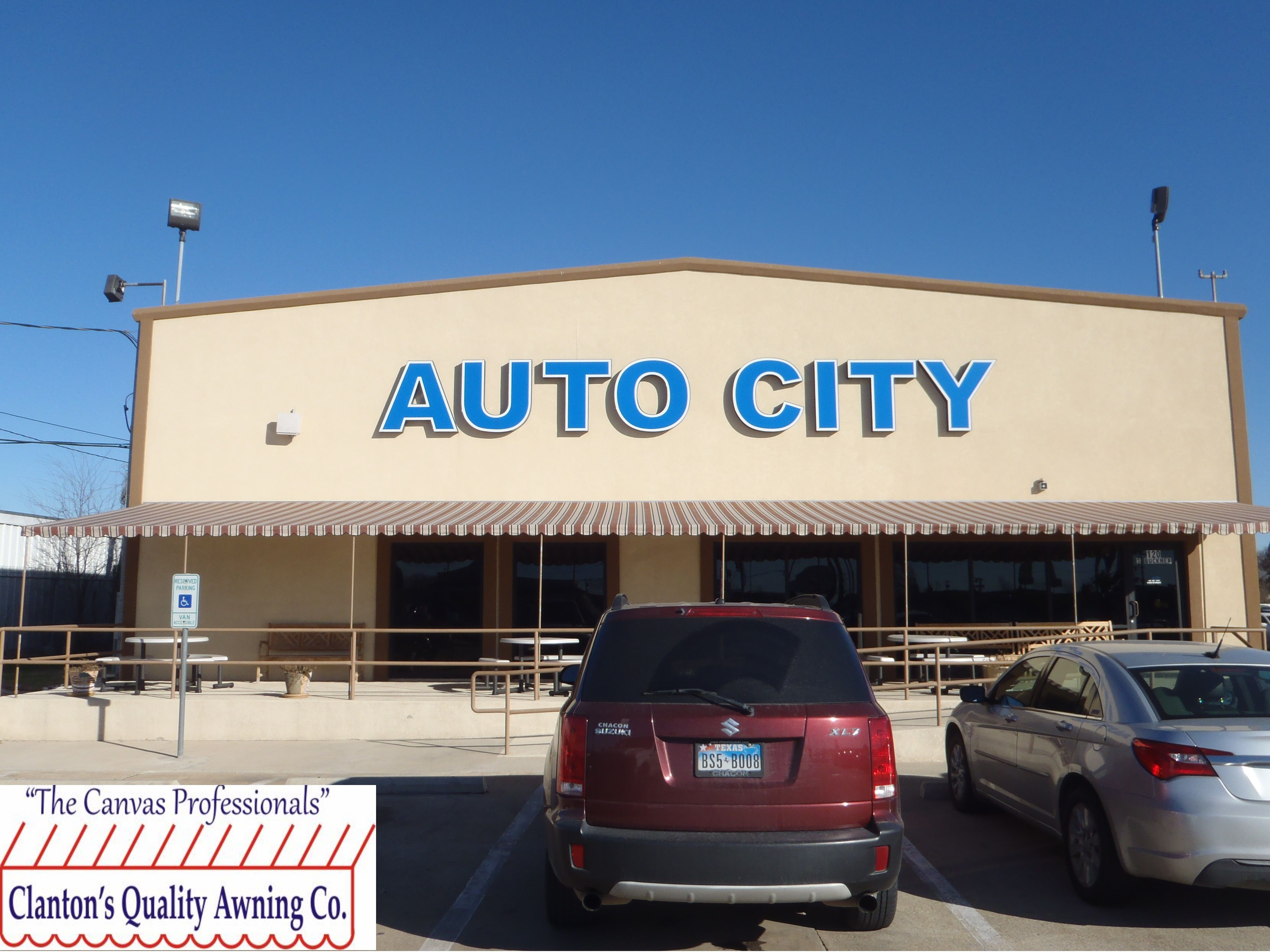 pictures commercial awning