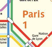 Paris Transportation Zone Map Paris Map Paris Transportation