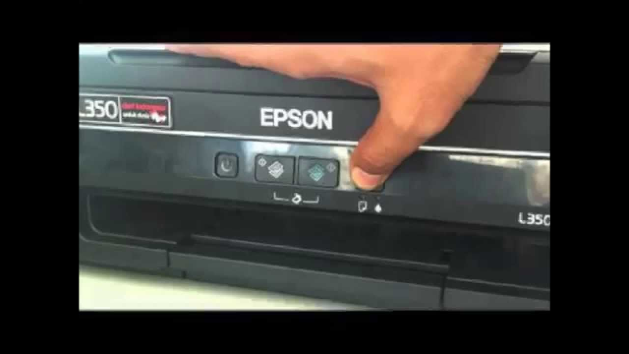 Solved : Red light blinking in Epson L110-L210-L300-L350-L355 by Ink