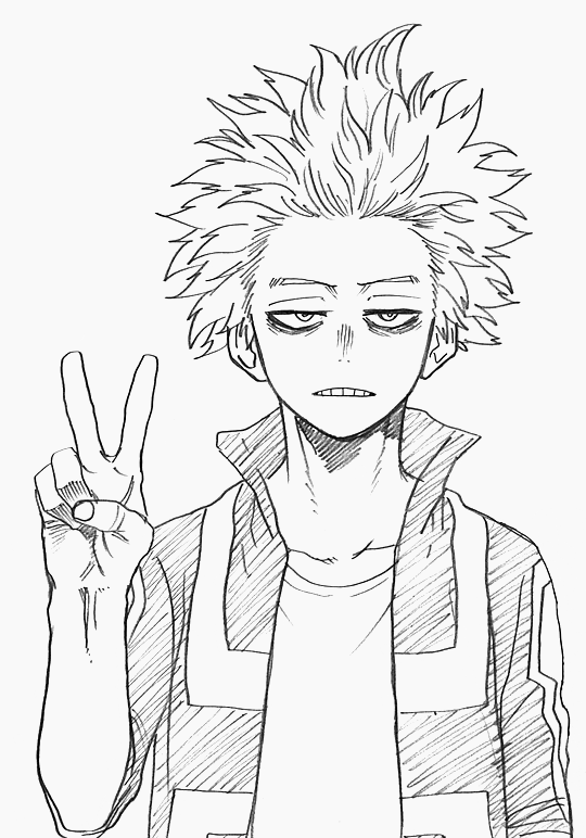 Bnha Pages Coloring Pages