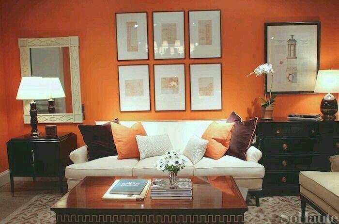 Best Orange Brown Orange Living Room Walls Living Room 400 x 300