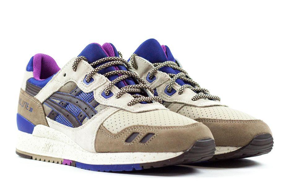 reputable site 7dfd9 b6e79 Asics Gel Lyte III - Light Brown - Dark Brown - Ink Blue - SneakerNews.com
