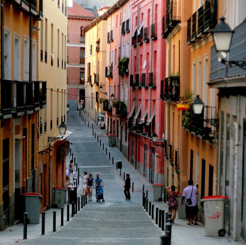 Calle Calvario Lavapies, Madrid by Javier Baztan