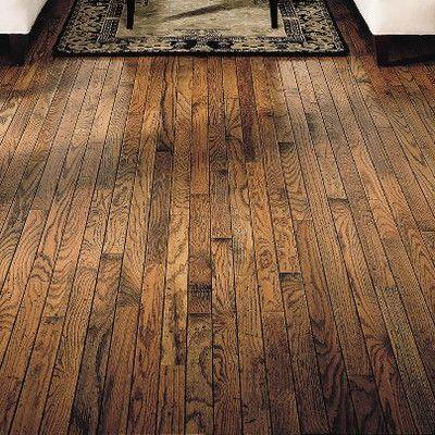 Bruce Flooring Trumbull Strip 2 1 4 Solid Oak Hardwood Flooring In Honey Oak Hardwood Flooring Bruce Flooring Bruce Hardwood Floors