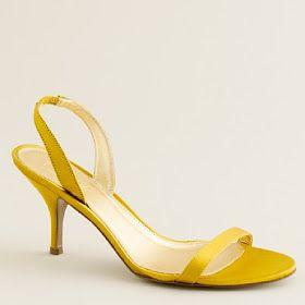 A Yellow and Grey Wedding | Yellow wedding shoes, Yellow ...