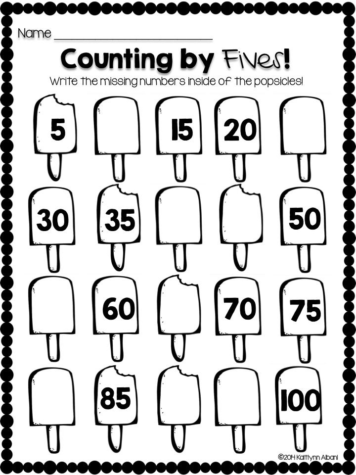 No prep Spring Printable worksheets for first grade