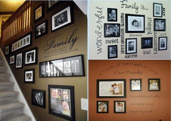 Wall Photo Ideas creative household ideas | creative family wall ideas 4 | l♥ve