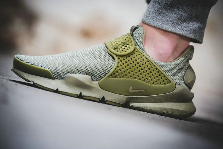 huge discount 12518 05d51 reduced latest and newest unisex nike sock dart breeze summer 2017 olive  green 909551 200 on