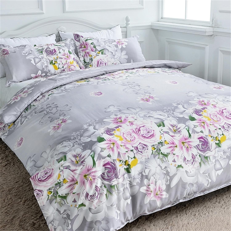 Details about Duvet Cover + Pillow Cases Bedding Set