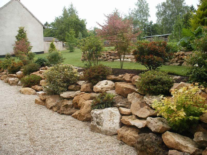 Jardin en pente zen photo am nagement jardin en pente des photos des photos de fond - Photos jardins en pente ...
