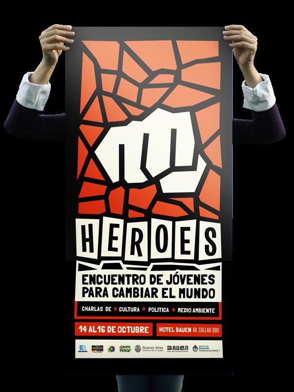 HÉROES // Encuentro nacional on Behance