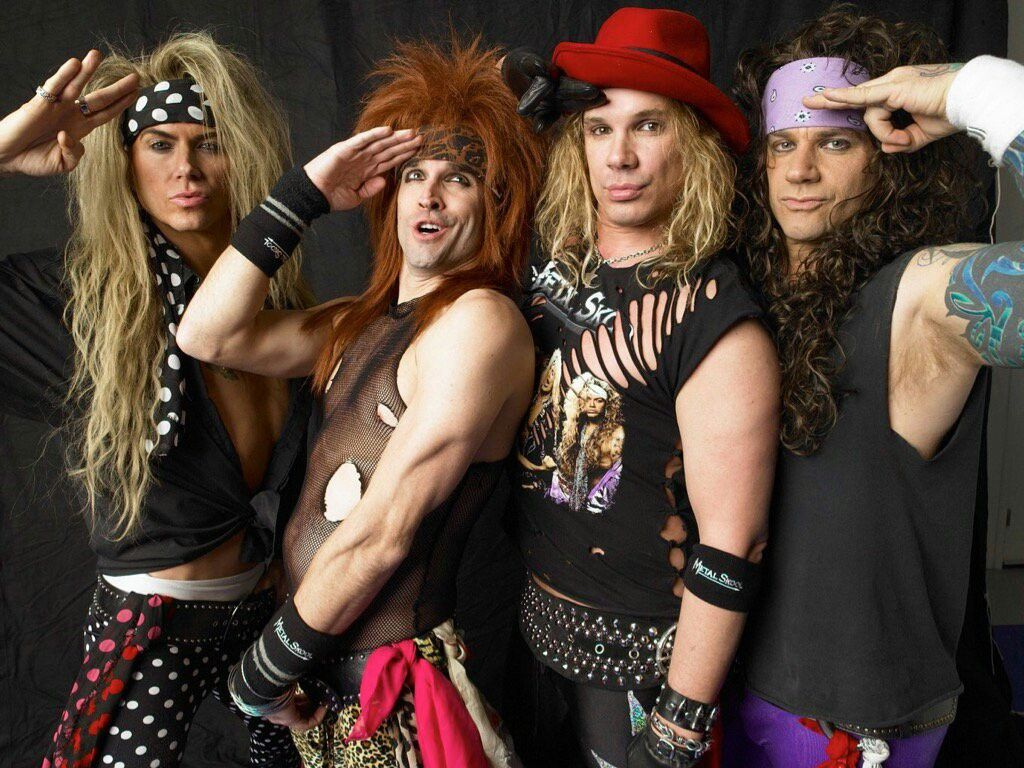 Steel Panther ||| Satchel's face.